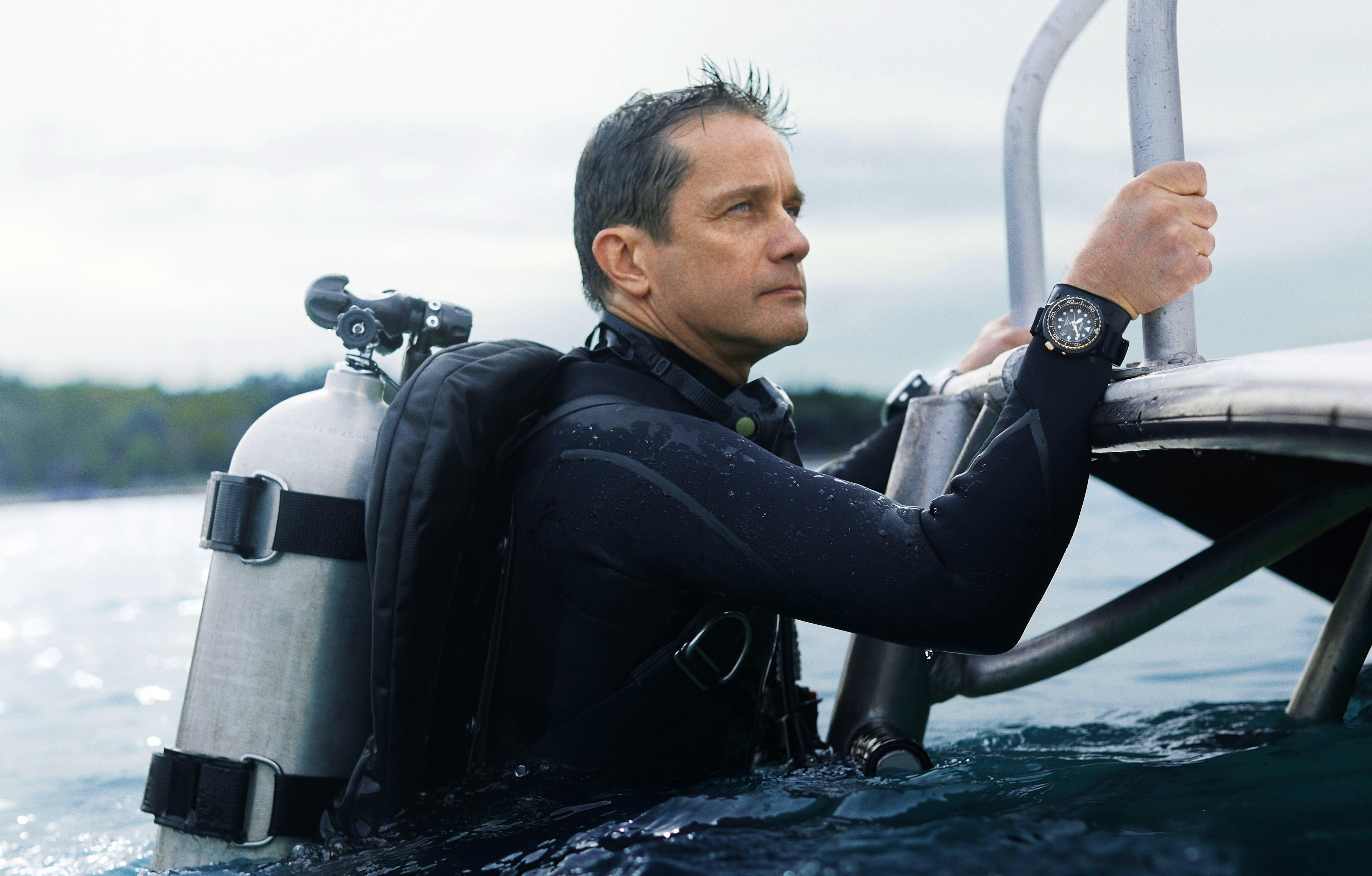 Seiko Prospex indgår nyt samarbejde med Fabien Cousteau