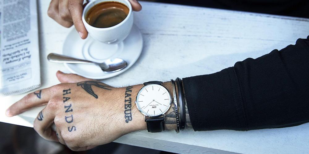 De Smarte Classic Cuff Armbånd Fra Daniel Wellington er elegant til den moderne mand