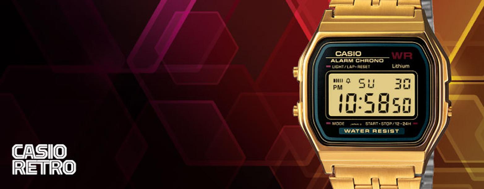 Casio er et af de kendteste mærker indenfor ure og det er med god grund. Design og kvalitet er virkeligt godt for dette urmærke.