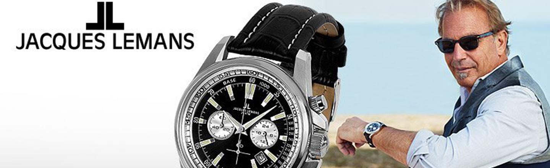 Jacques Lemans er ure til sportsudøveren eller til den klassiske type.