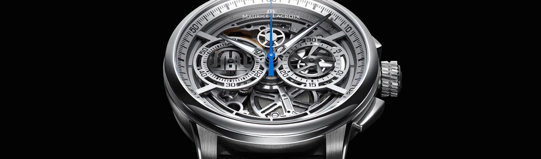 Flot design og god kvalitet kendetegner urene fra Maurice Lacroix