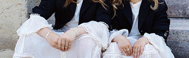 Børnesmykker finder du hos Guldmed Borup, hvor vi har et stort udvalg af ringe, øreringe, halskæder og armbånd.