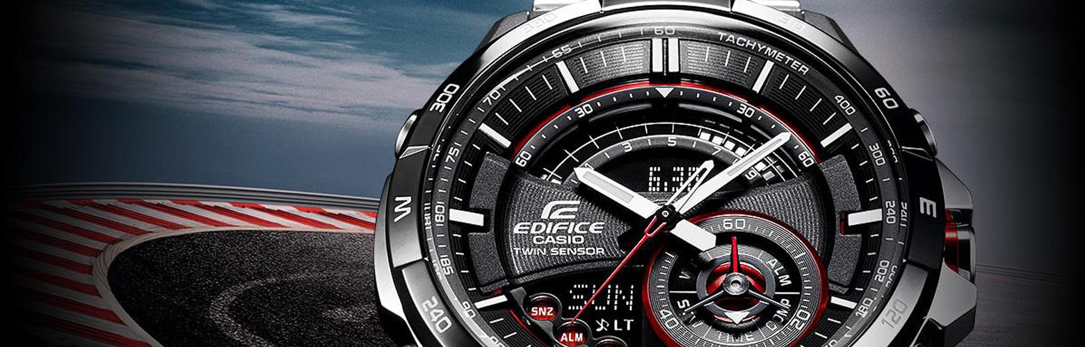 Casio Edifice urene er til dig, som kan lide stilfude, elegange og klassiske ure men samtidigt gerne vil have en masse interessante funktioner på dit ur.