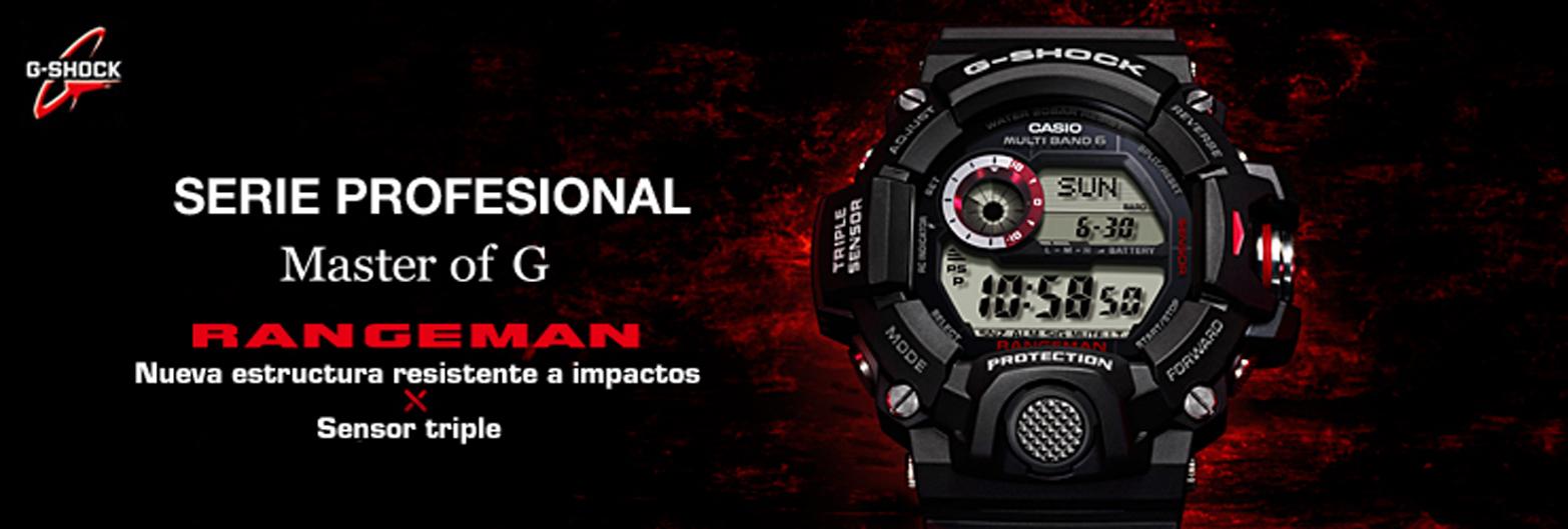 G-shock fra Casio er et ur til dig, som kan lide oplevelser og voveture.