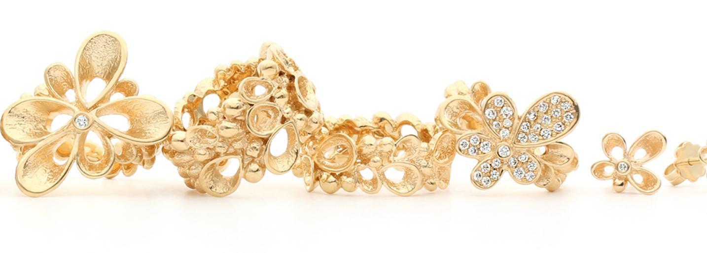 Danske smykker designet af Kell Borup, Karin Borup og Per Borup.