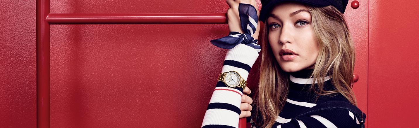 Tommy Hilfiger er blevet et ikon indenfor modeverdenen og urene er et hit især hos de unge